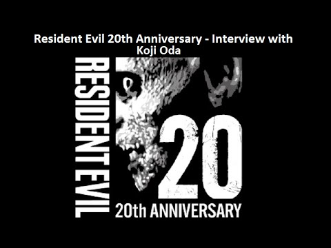 Resident Evil 20th Anniversary - Interview with  Koji Oda