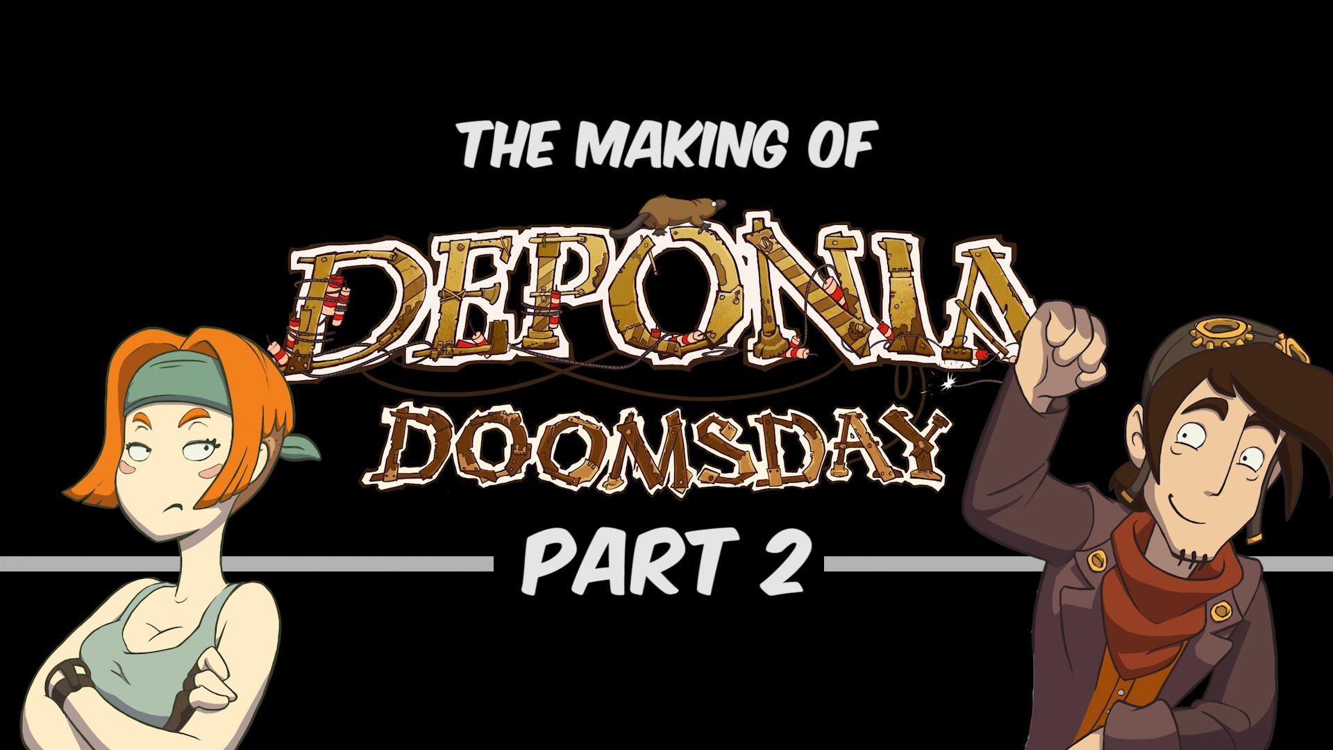 The Making of Deponia Doomsday [ENG] - Part 2