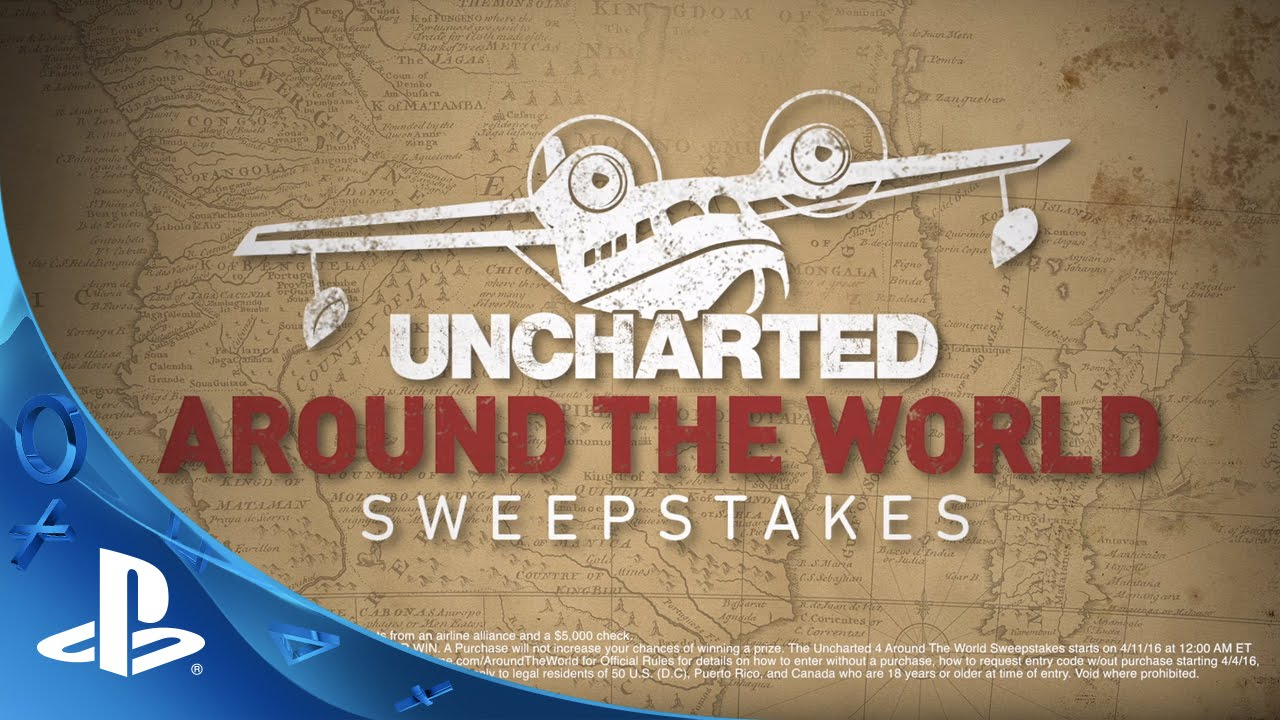 Uncharted Around The World Sweepstakes Trailer
