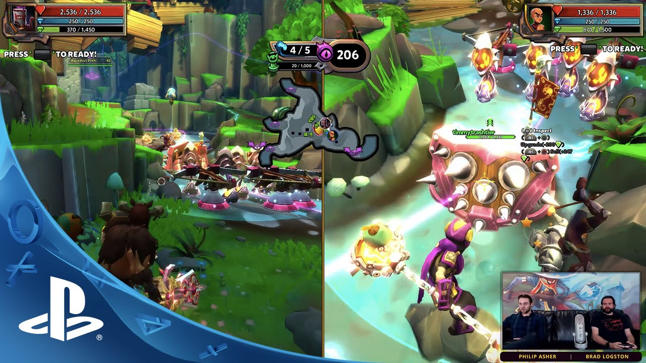 Dungeon Defenders II - First Look