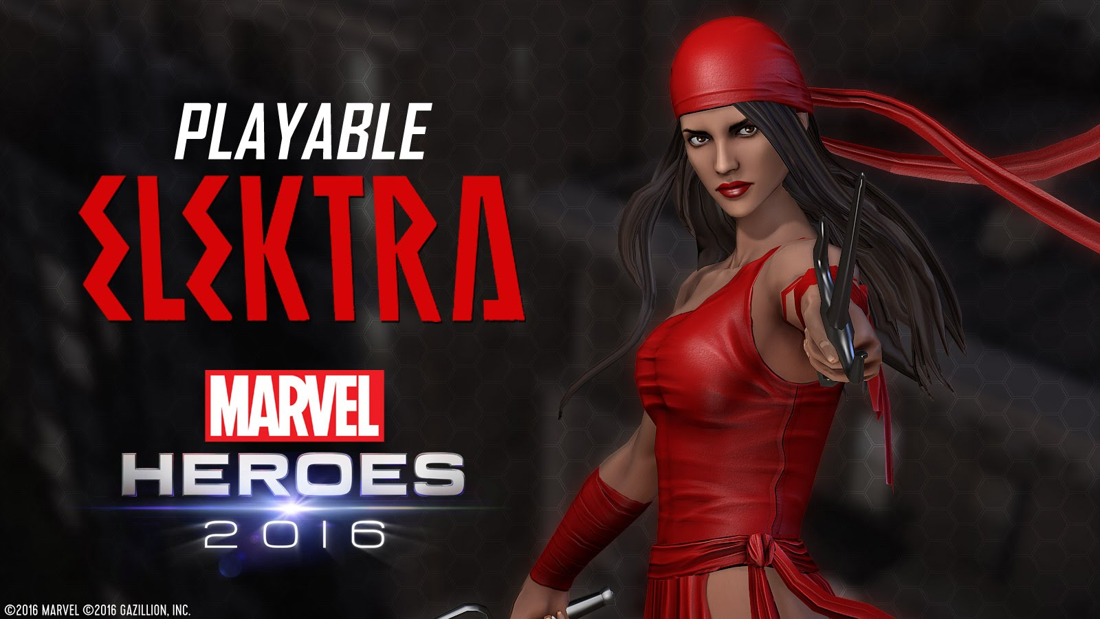 Elektra joins Marvel Heroes 2016!
