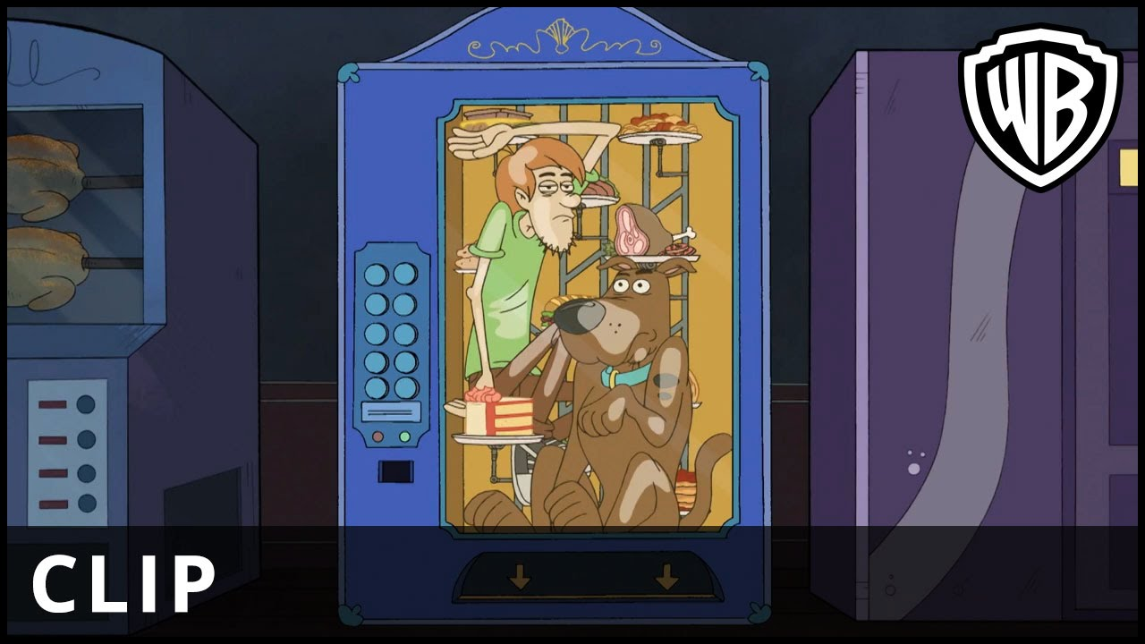 Be Cool, Scooby-Doo! – Haunted Vending Machine Clip