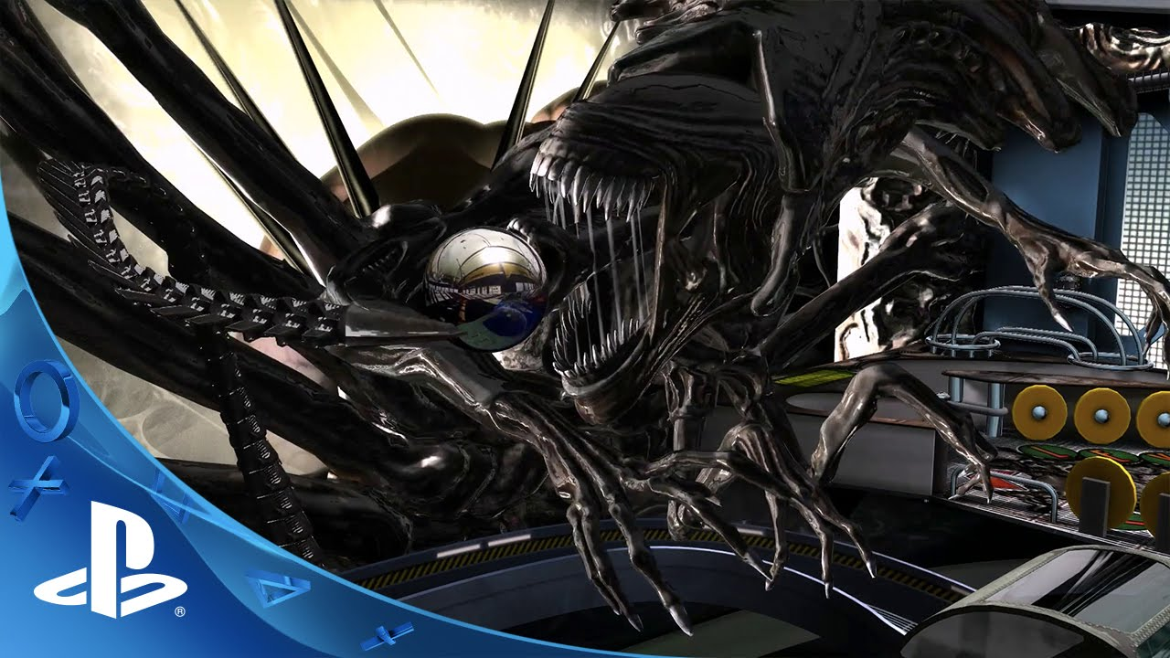 Aliens vs. Pinball: Aliens Pinball Trailer