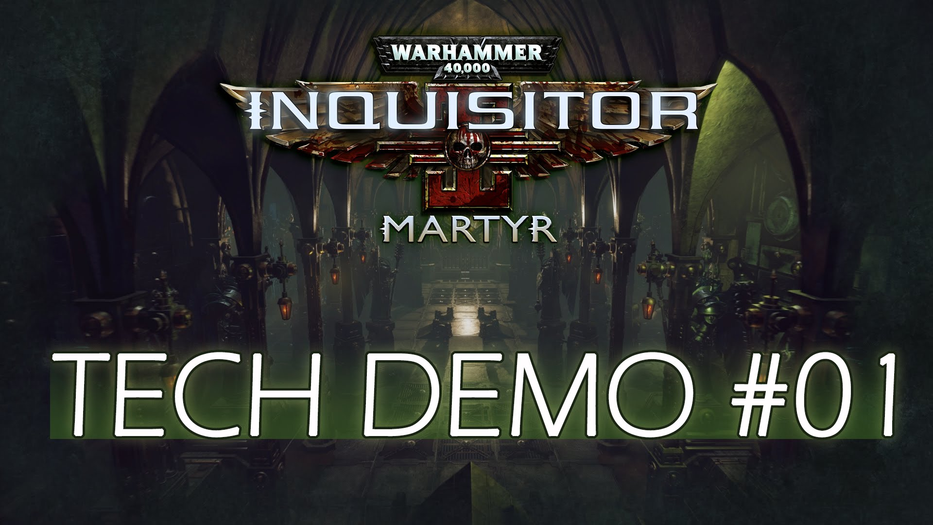 W40K Inquisitor - Martyr | Tech Demo Teaser #01 - Real-time Reflections