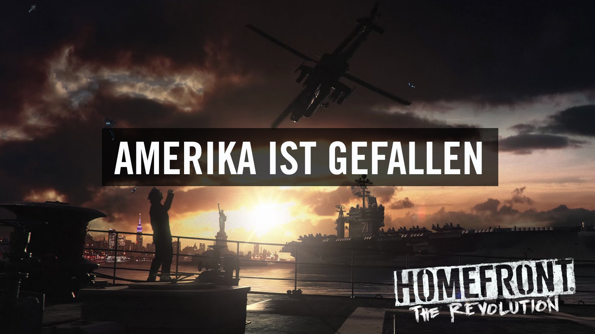 "Homefront: The Revolution ""Amerika ist gefallen""-Trailer"
