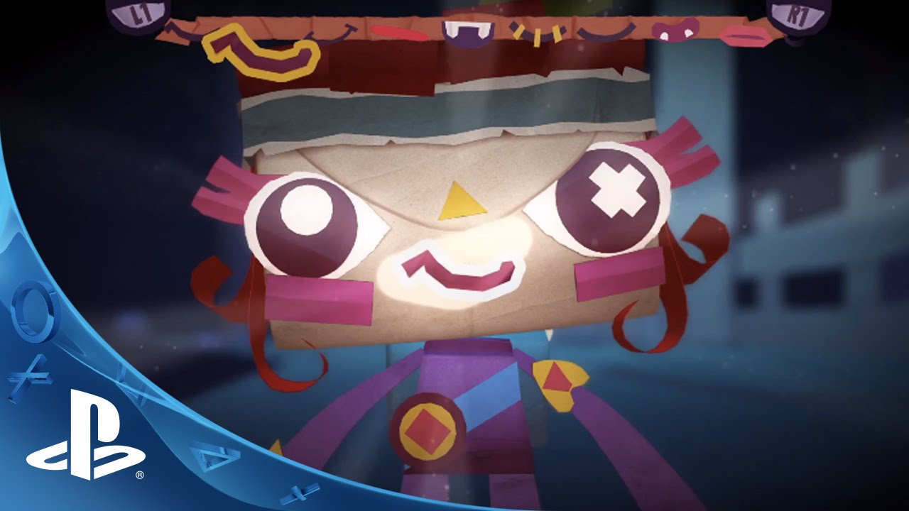 Tearaway Unfolded - Launch Trailer