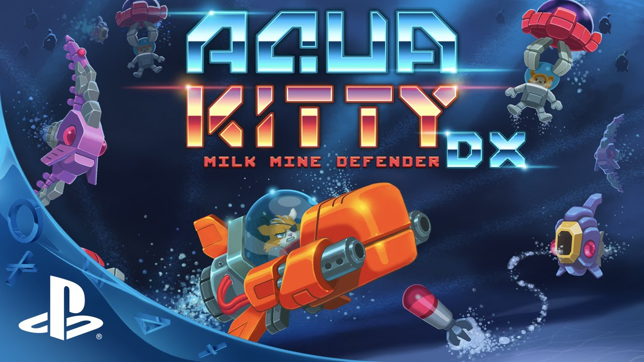 AQUA KITTY - Milk Mine Defender DX Trailer