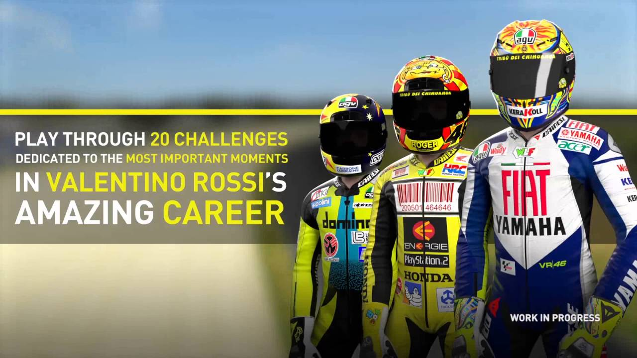 MotoGP16: Valentino Rossi Real Events DLC Trailer