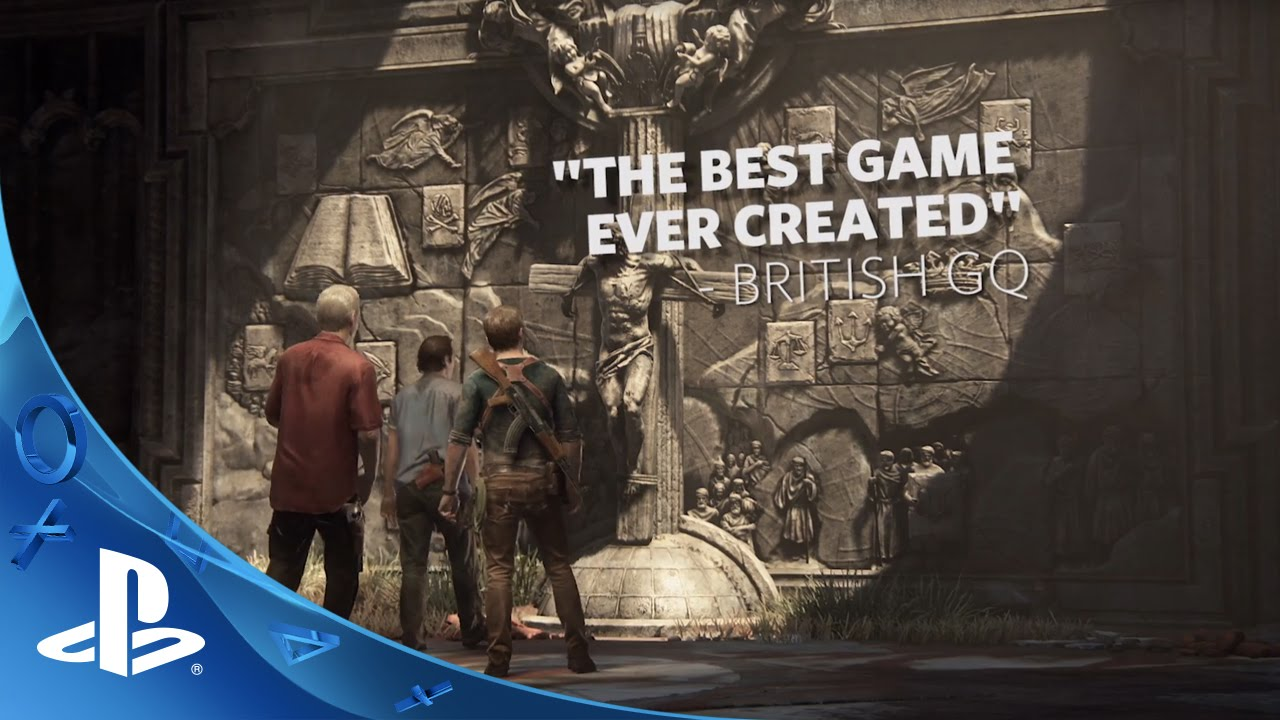 UNCHARTED 4: A Thief's End Accolades Trailer