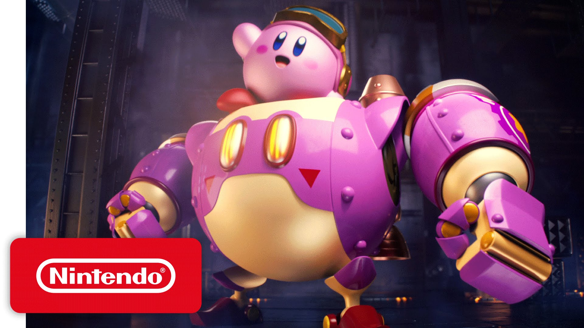 Kirby: Planet Robobot – 'Kirby Kicks Bot' Game Trailer