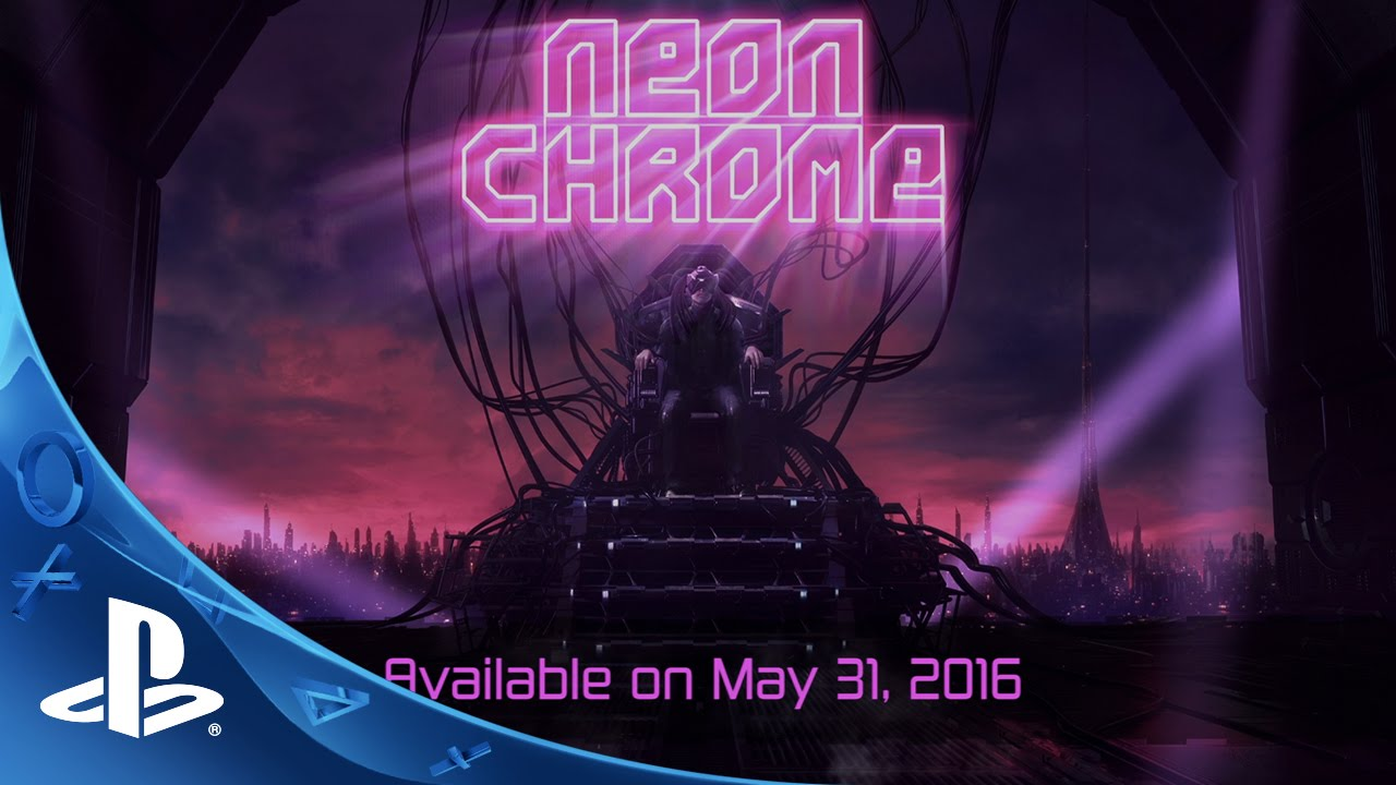 Neon Chrome – Launch Date Teaser Trailer