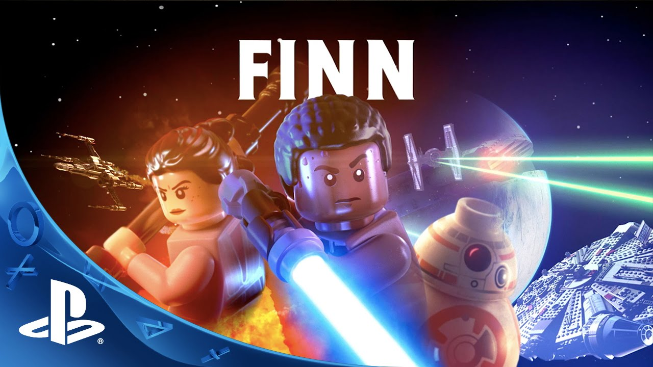 LEGO Star Wars: The Force Awakens - Finn Character Spotlight Trailer