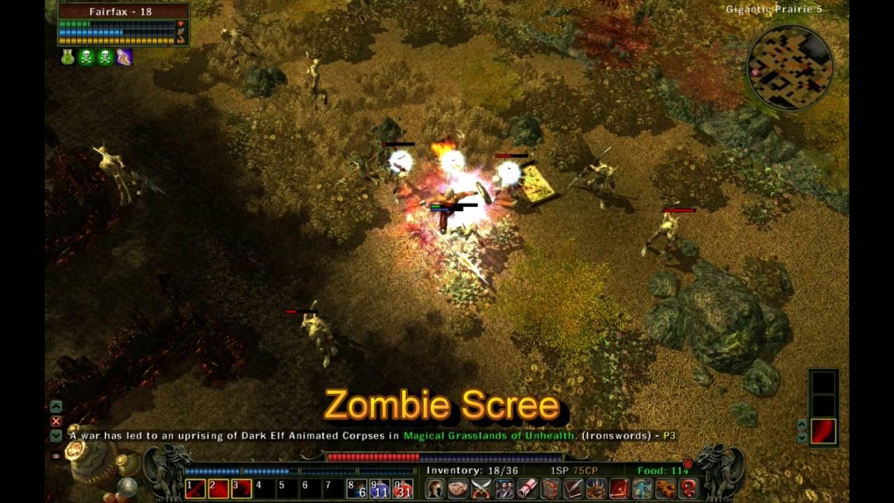 Zombie Types in Zombasite