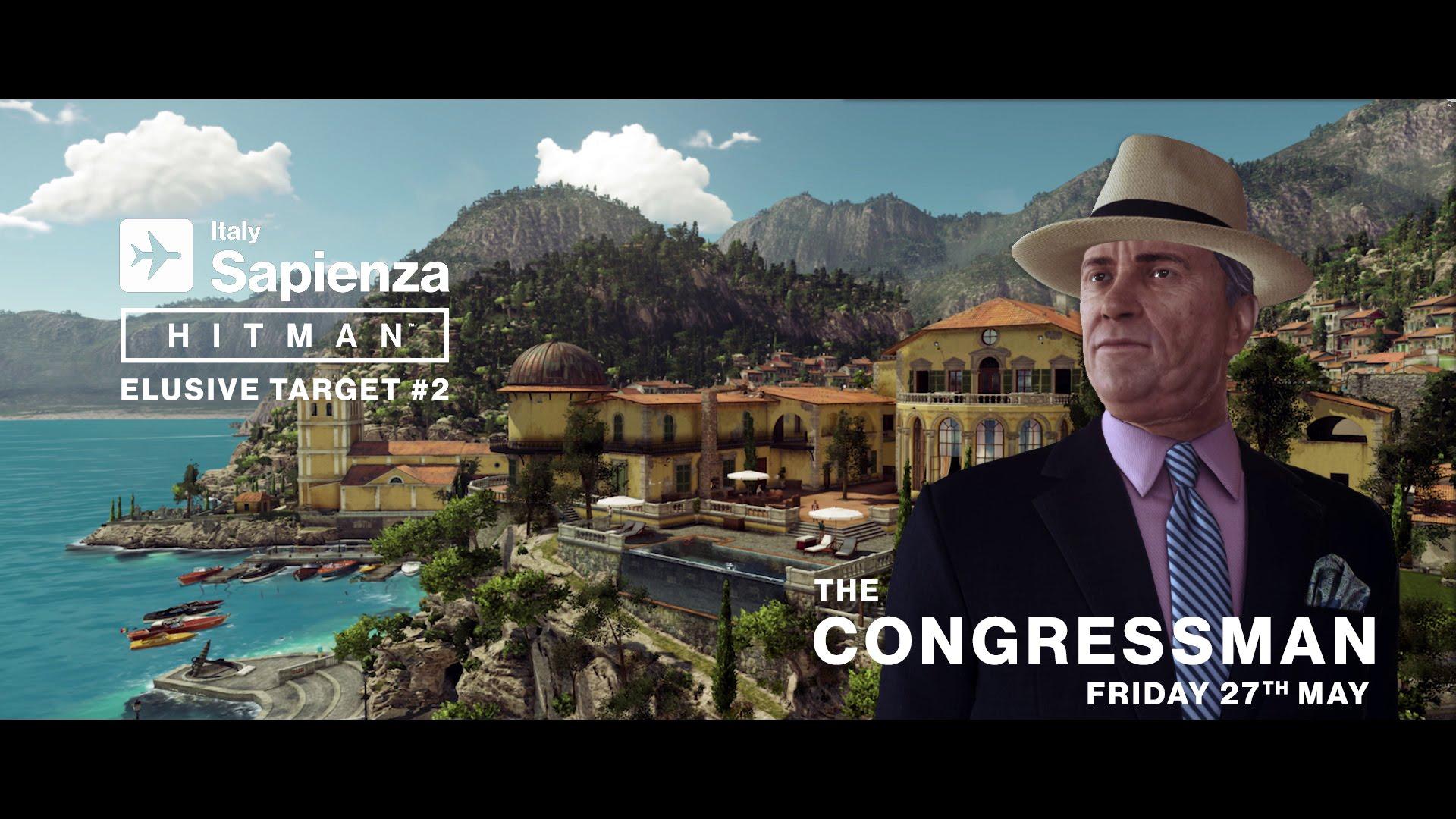 HITMAN - Elusive Target #2 - The Congressman