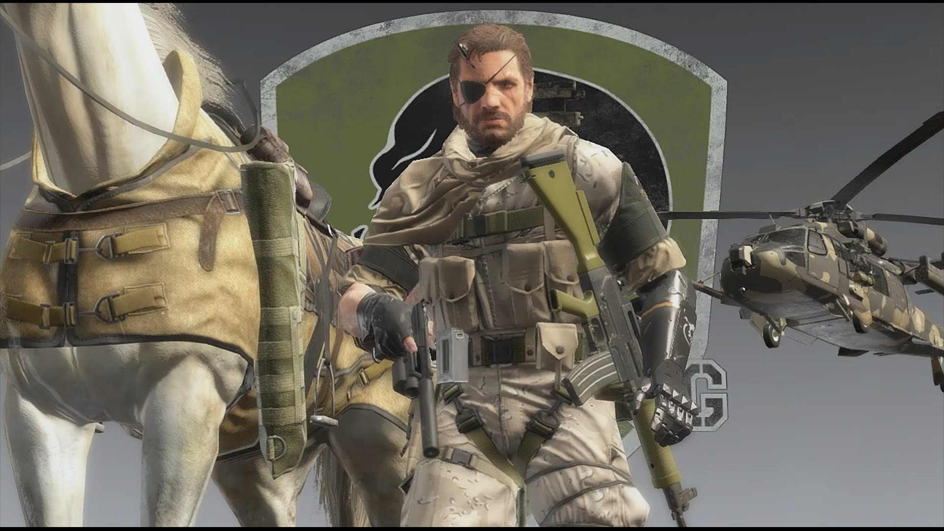 GAME PLAY DEMO - FREE INFILTRATION - METAL GEAR SOLID V: THE PHANTOM PAIN