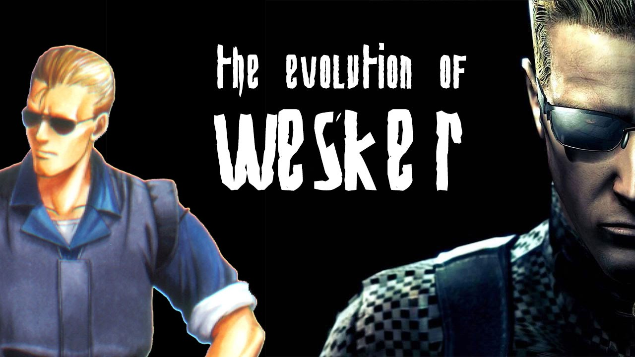 RE 20th Anniversary – The Evolution of Wesker