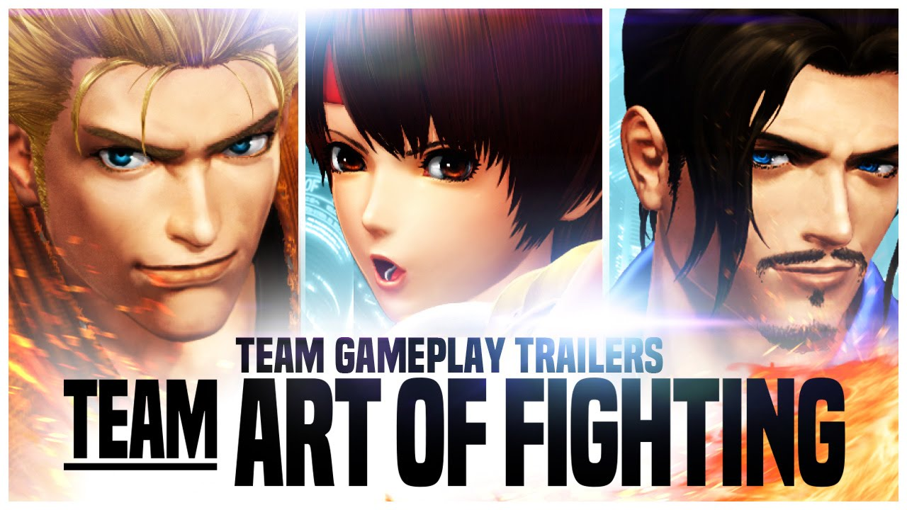 THE KING OF FIGHTERS XIV: Team 'Art of Fighting' Trailer