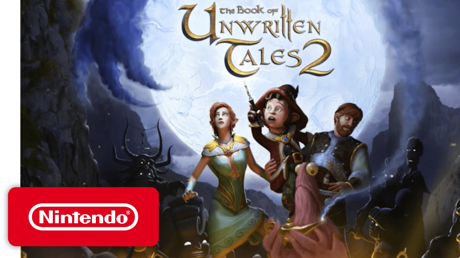 The Book of Unwritten Tales 2 - Game Trailer