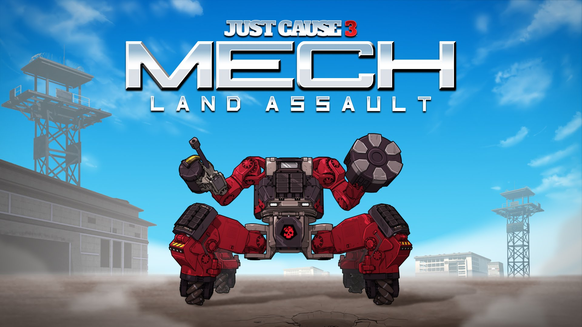 Just Cause 3 Mech Land Assault Launch Trailer