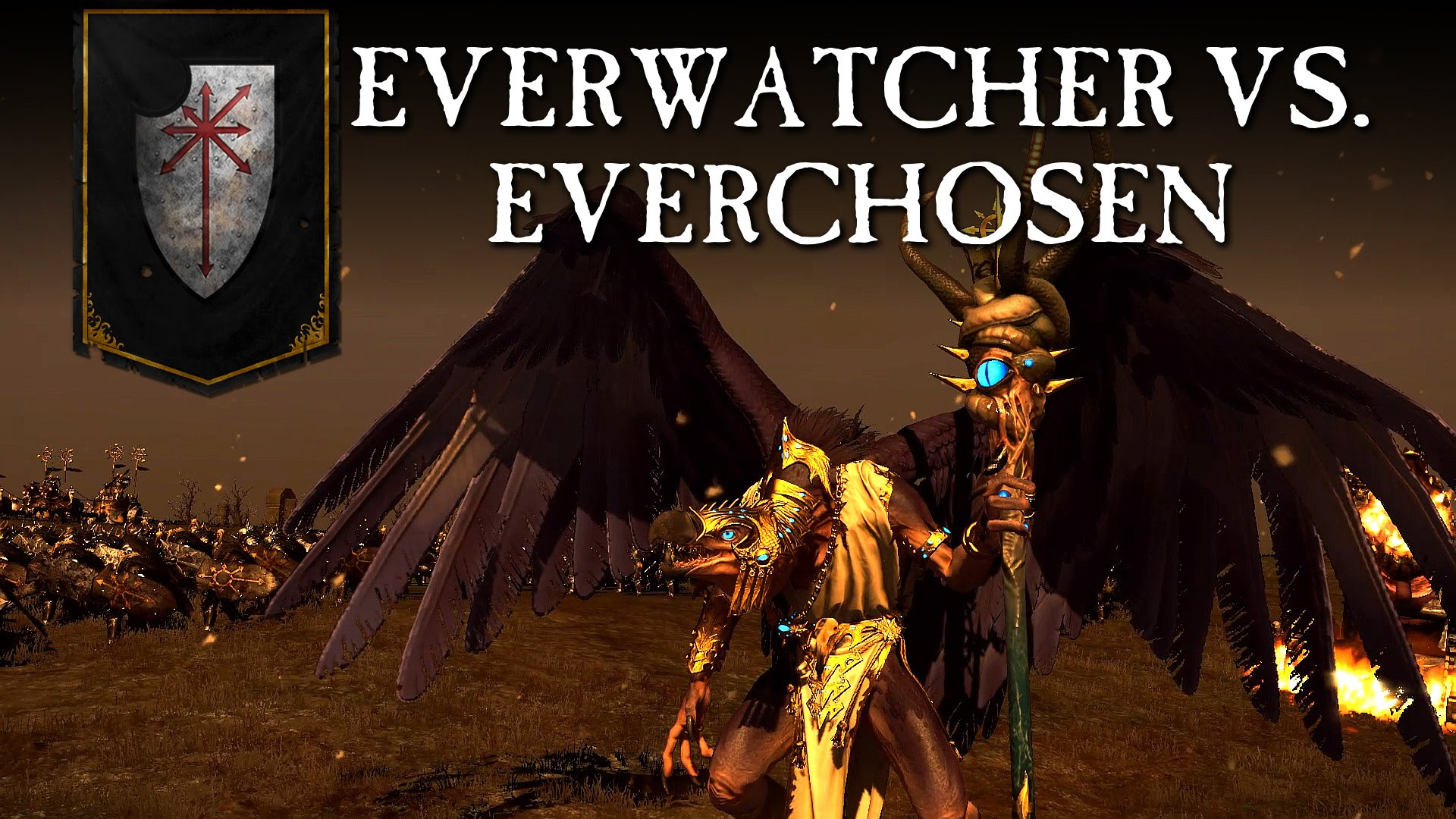 Total War: WARHAMMER - The Everchosen vs. The Everwatcher
