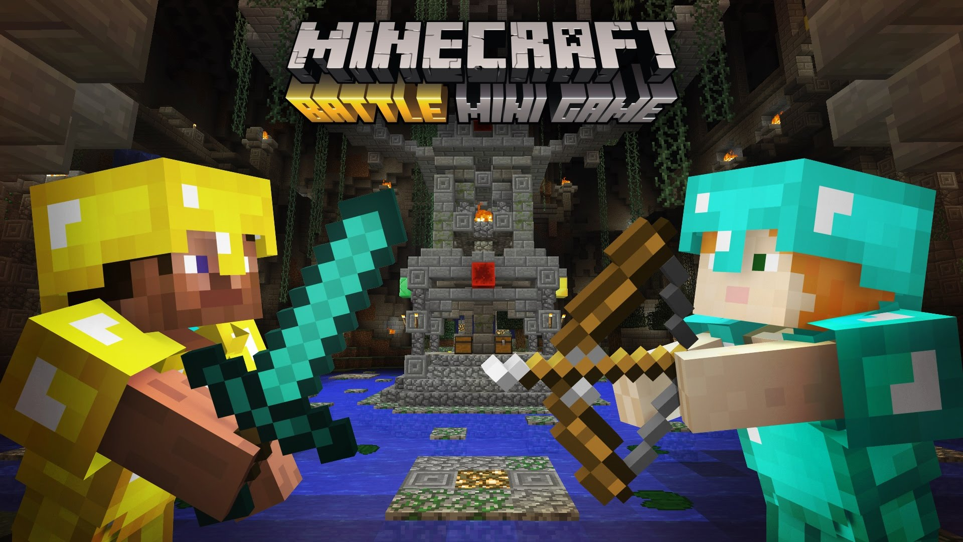 Minecraft Battle mini game trailer: coming free on June 21