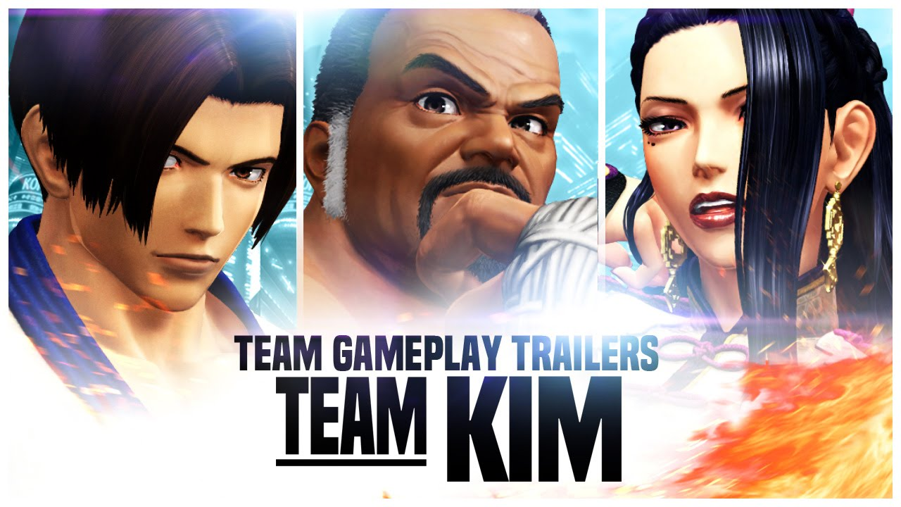 THE KING OF FIGHTERS XIV: Team 'Kim' Trailer