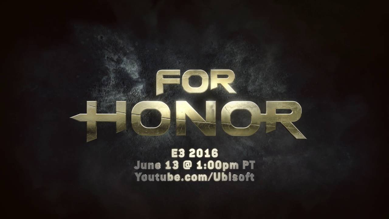 For Honor E3 2016 Teaser - They Are Coming