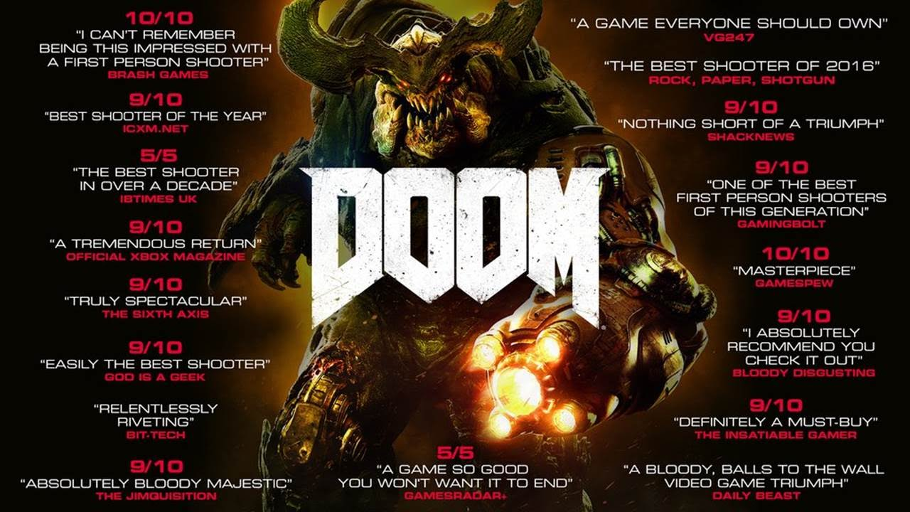 DOOM - Launch Accolades Trailer