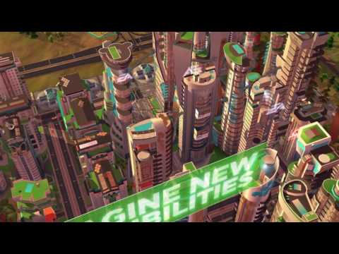SimCity BuildIt | Future Cities Update trailer