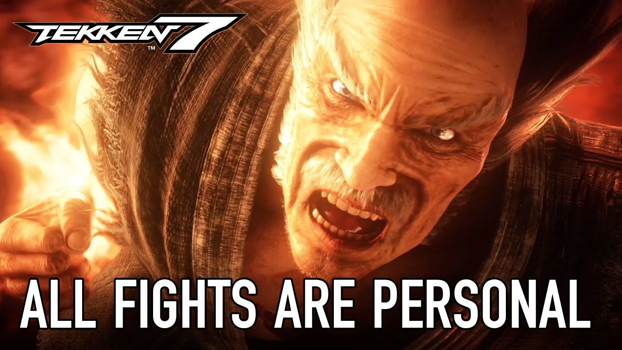 Tekken 7 - All fights are personal (E3 2016 Extended Trailer)