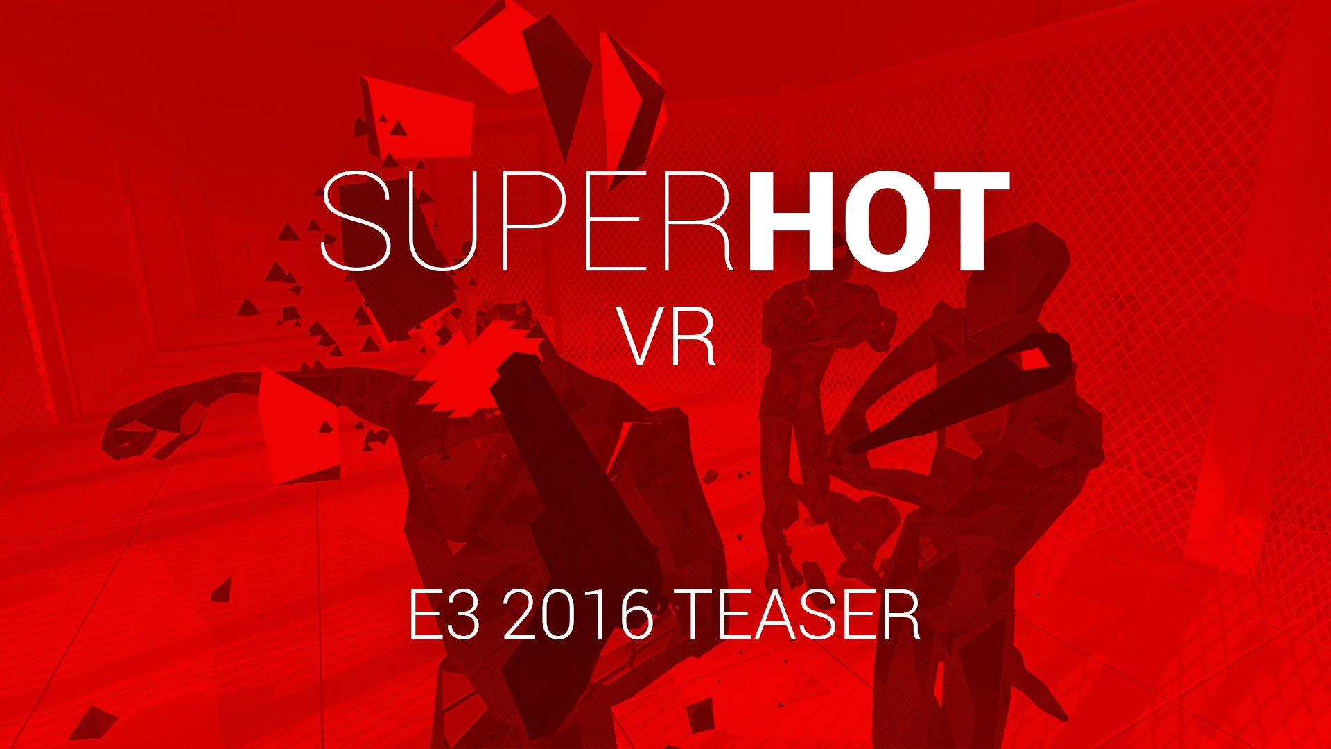 SUPERHOT VR Reveal Gameplay Trailer