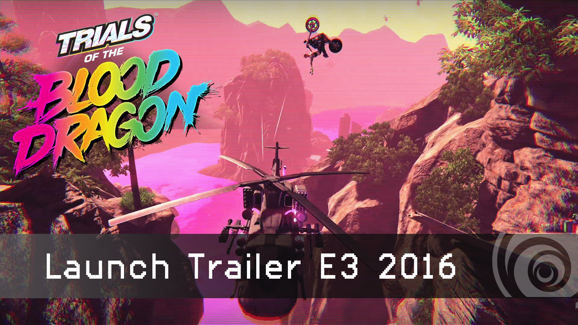 TRIALS of the BLOOD DRAGON - Launch Trailer E3 2016