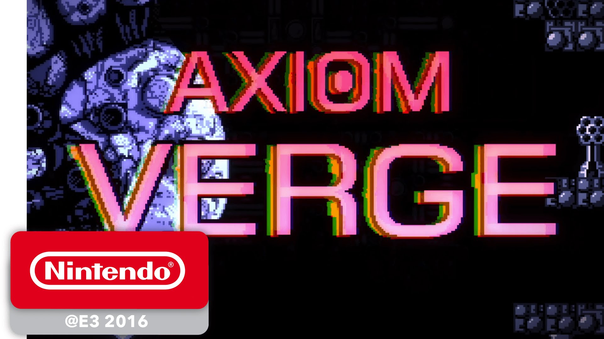 Axiom Verge Game Trailer - Nintendo E3 2016