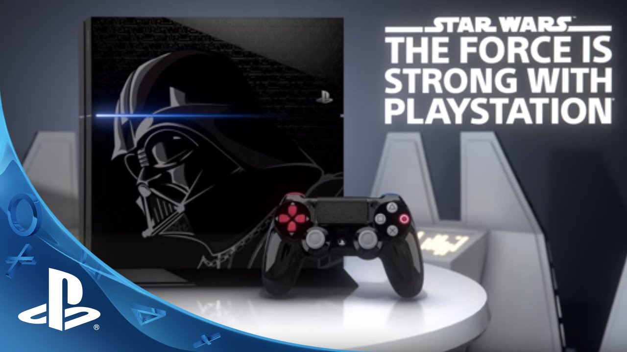 Announcing The Star Wars™ Limited Edition PlayStation 4