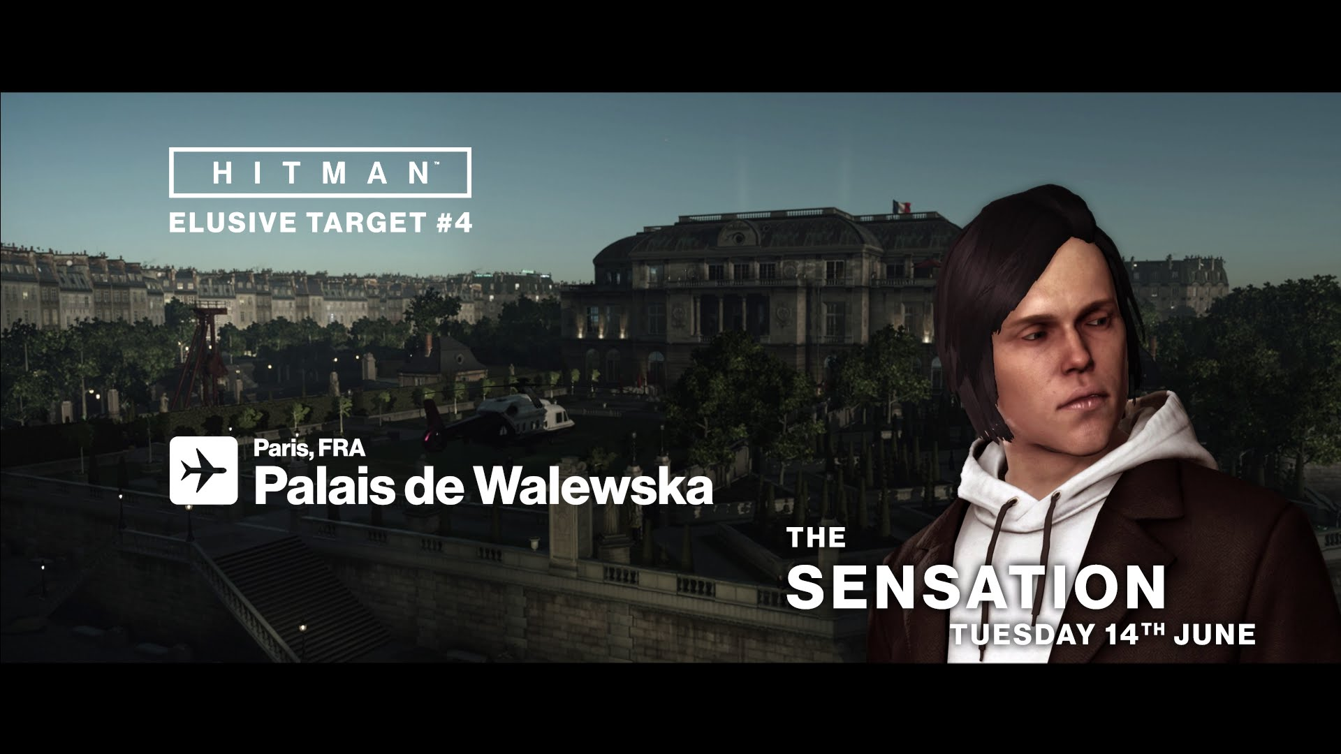 HITMAN - Elusive Target #4 - The Sensation