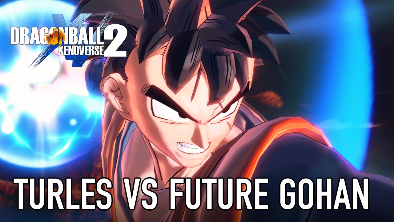 Dragon Ball Xenoverse 2 - Turles vs Future Gohan (E3 2016 Gameplay Footage)