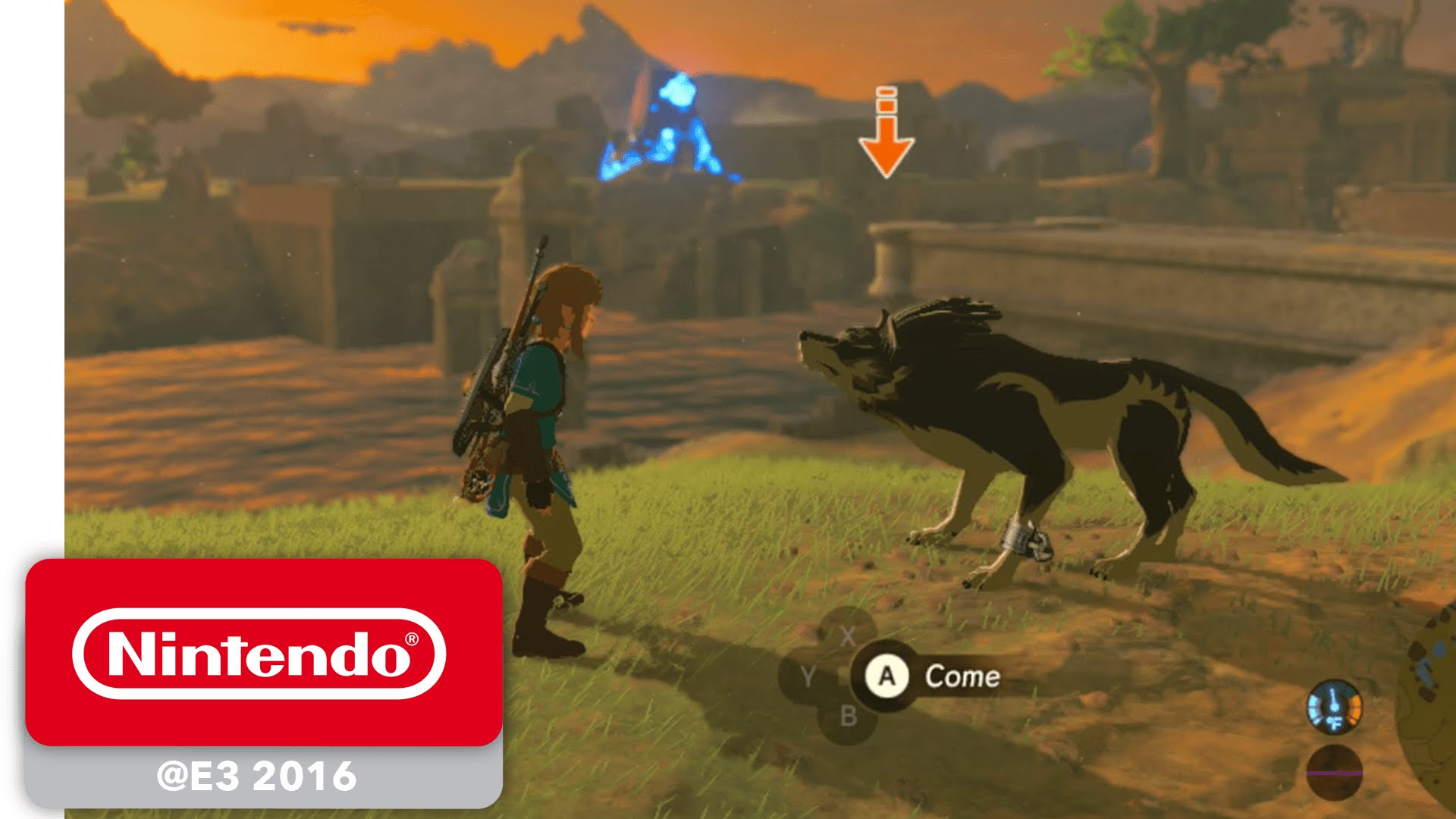 The Legend of Zelda: Breath of the Wild - Wolf Link amiibo Trailer - E3 2016