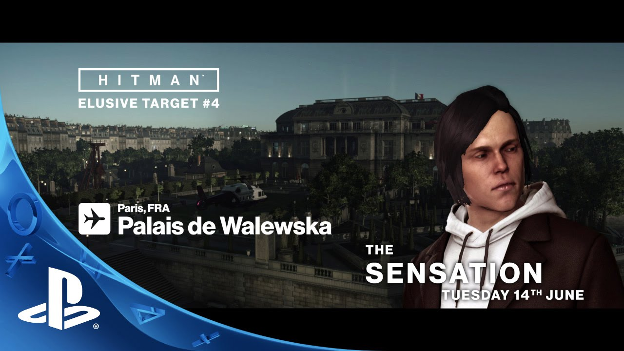 HITMAN - Elusive Targets: The Sensation Trailer
