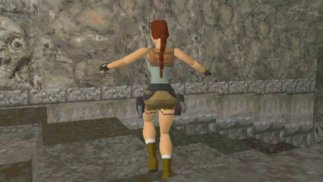 Tomb Raider Pre Alpha Footage (1996)