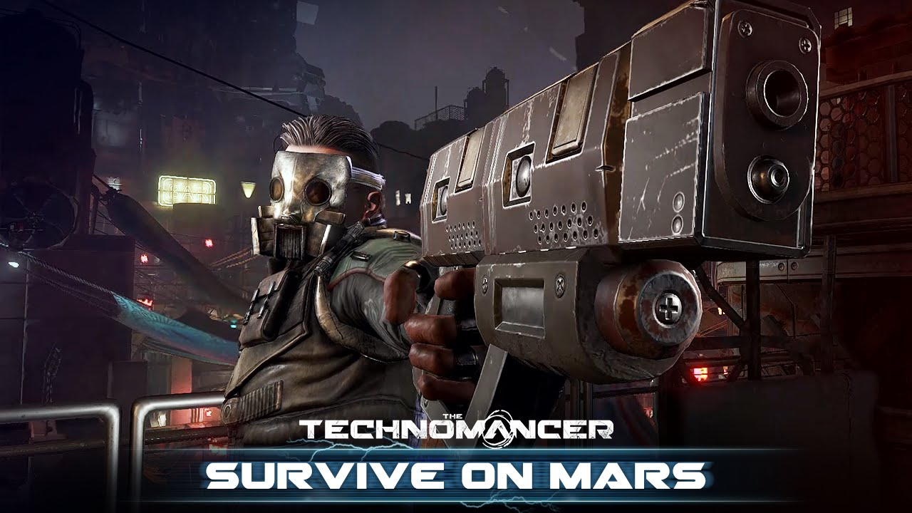 The Technomancer - Survive on Mars (Gameplay)