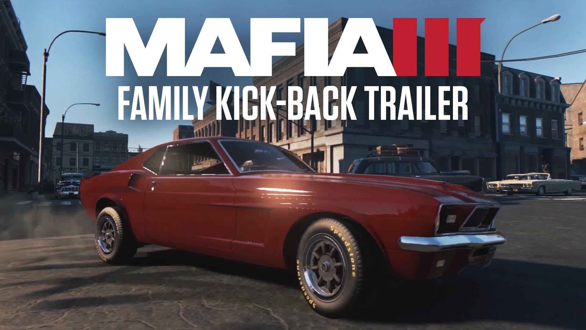 Mafia III Family Kick-Back Trailer