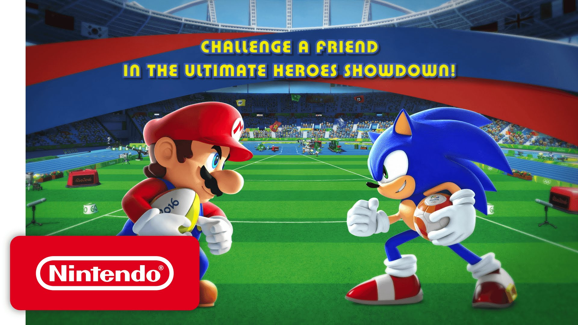 Mario & Sonic at the Rio 2016 Olympic Games - Heroes Showdown Trailer