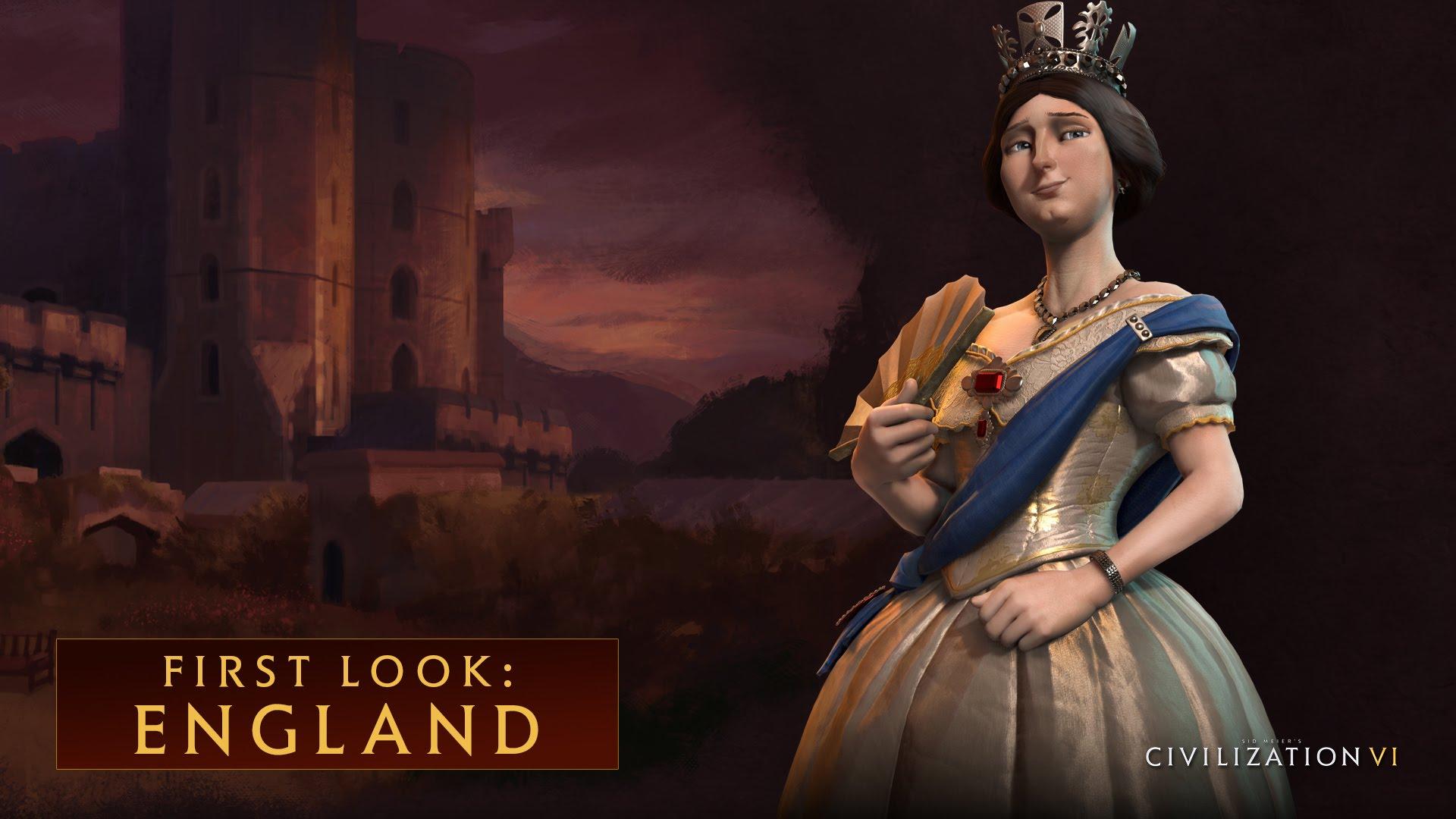 CIVILIZATION VI - First Look: England