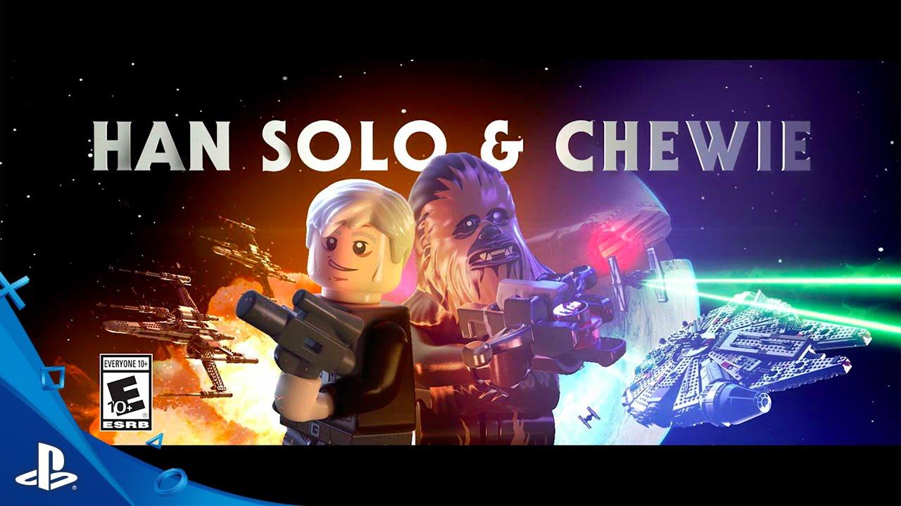 LEGO Star Wars: The Force Awakens - Han Solo + Chewie Character Spotlight Trailer