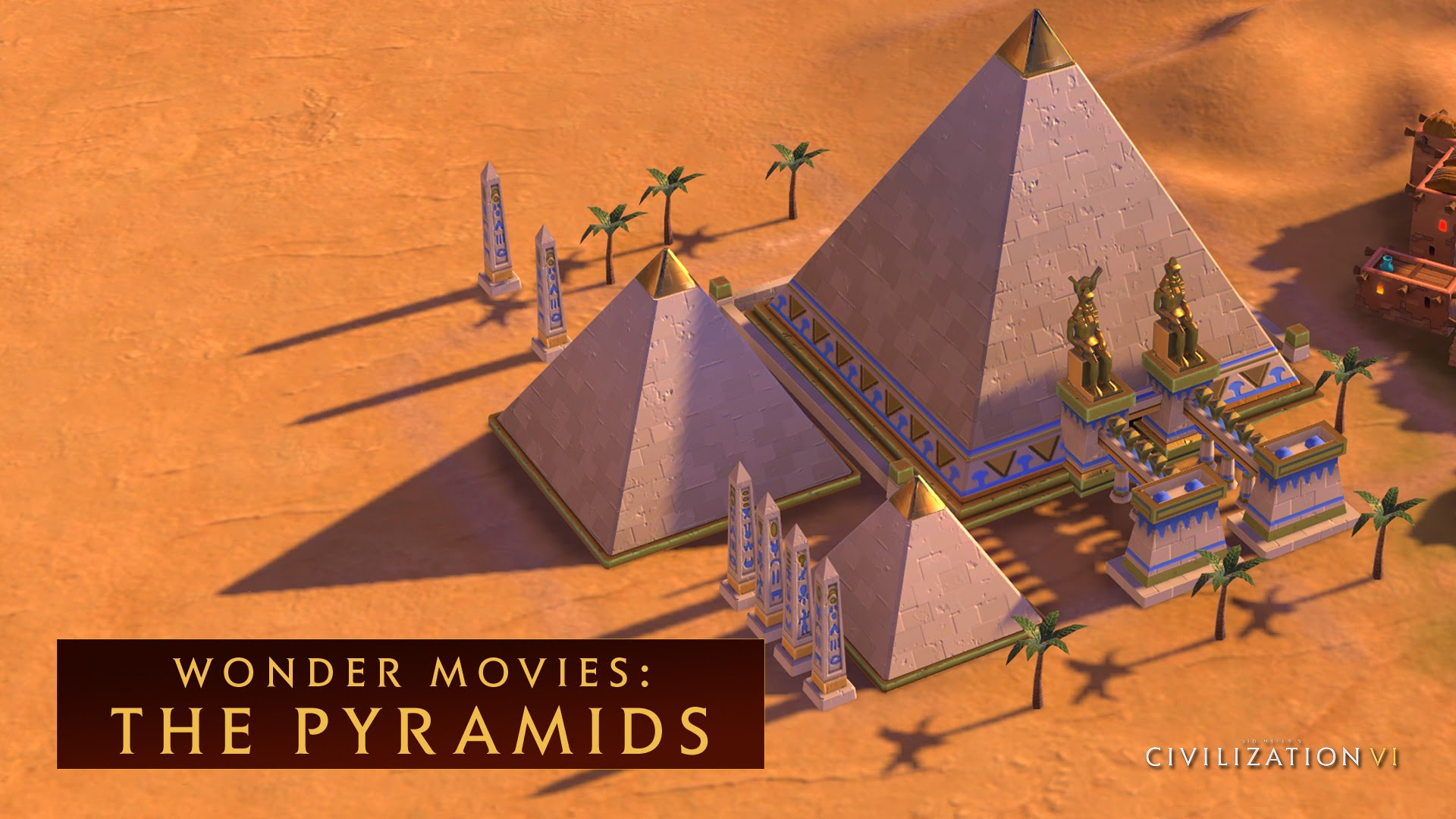 CIVILIZATION VI - The Pyramids (Wonder Movies)