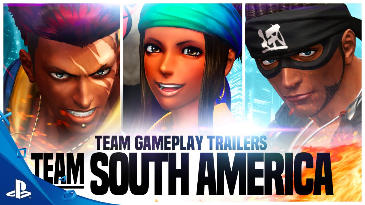 The King of Fighters XIV - Team South America Gameplay Trailer