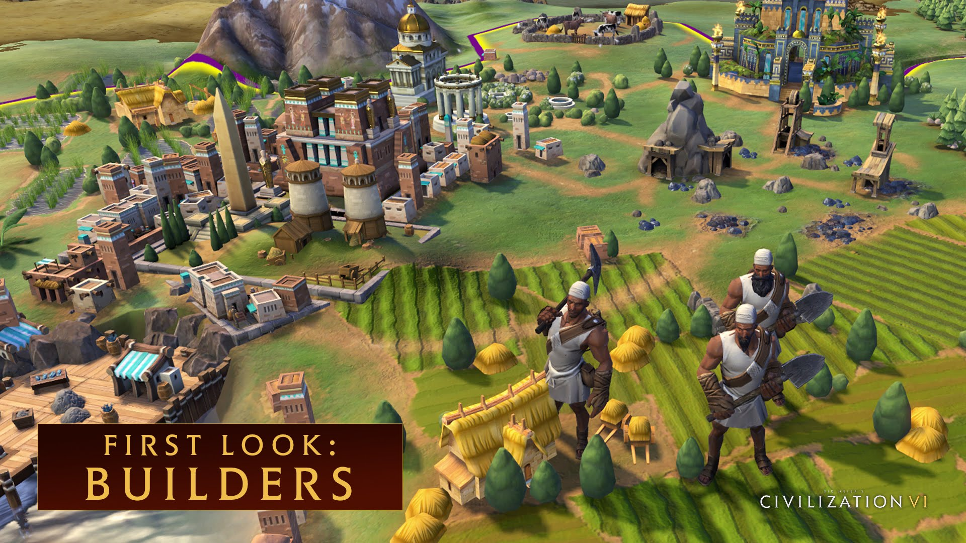 CIVILIZATION VI - First Look: Builders