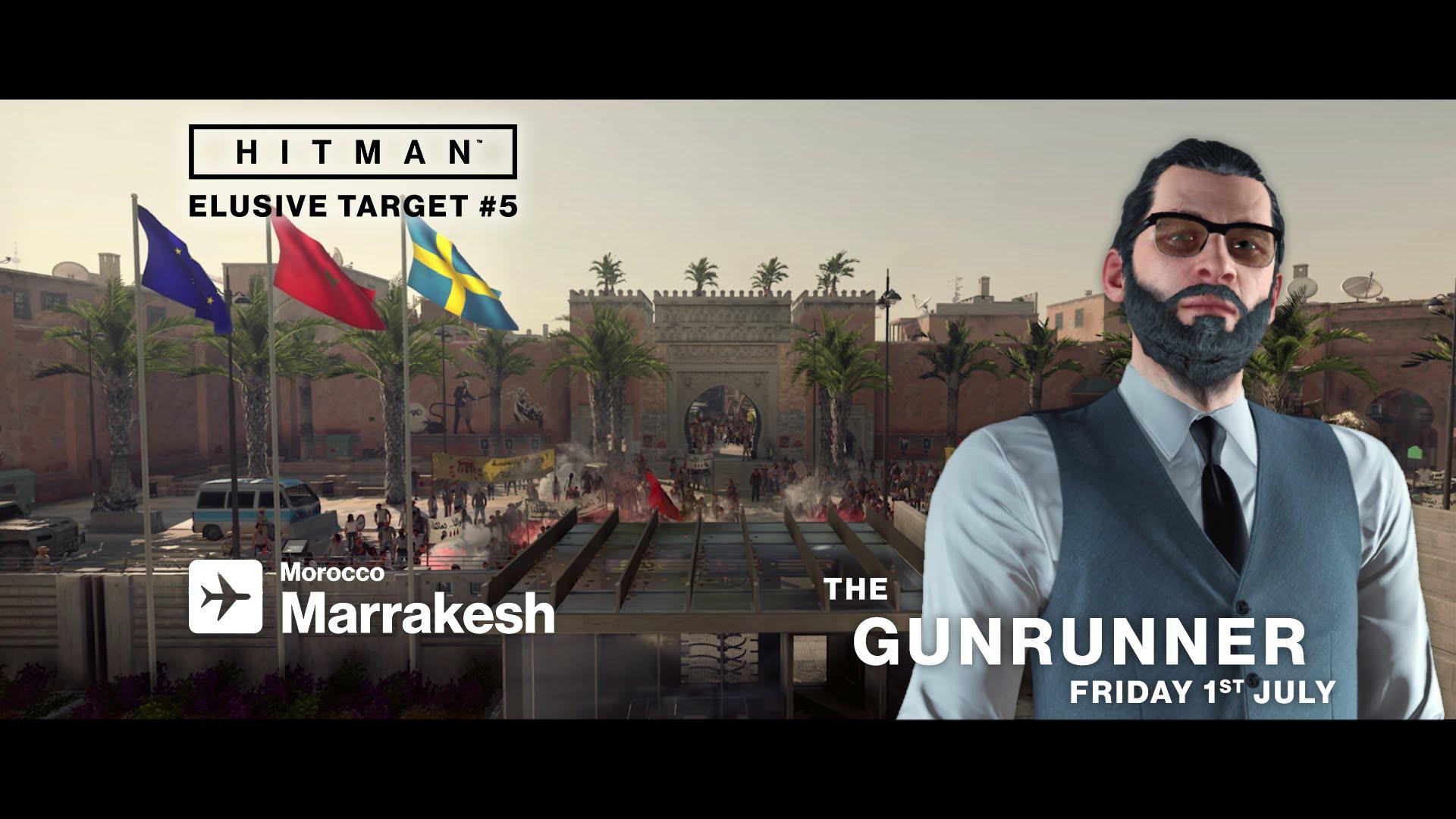 HITMAN - Elusive Target #5 - The Gunrunner