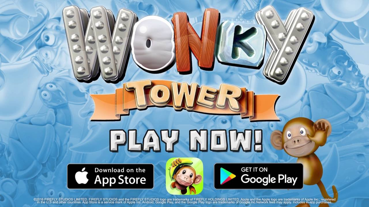 Wonky Tower - Launch Trailer