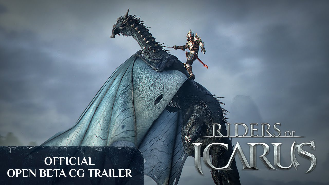 Riders of Icarus Official Open Beta CG Trailer